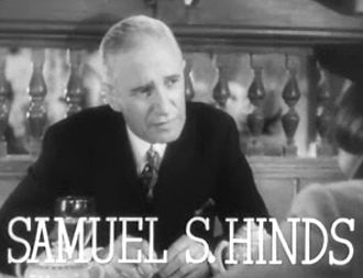 Samuel S. Hinds - Samuel Hinds in Stage Door (1937)