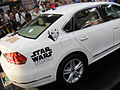 San Diego Comic-Con 2011 - Star Wars VW Passat art car at the beginning (Lucasfilm booth) (5977013686).jpg