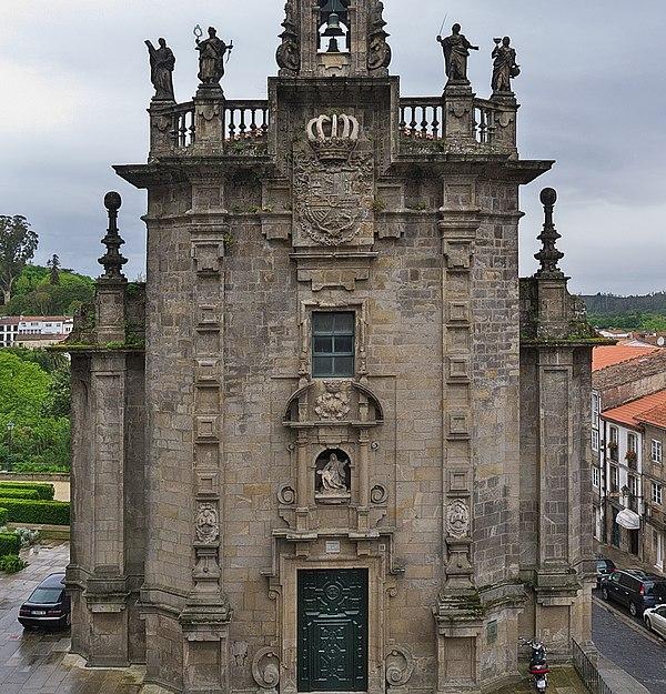 File:San Fructuoso. Santiago de Compostela.jpg