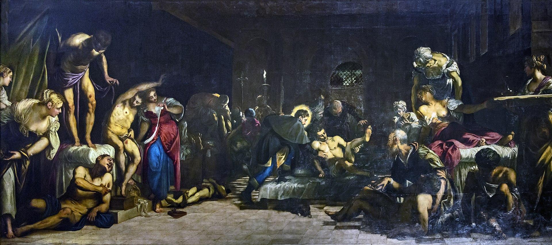 San Rocco Venezia (Interno) - San Rocco risana gli appestati.jpg