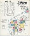 Sanborn Fire Insurance Map from Brainerd, Crow Wing County, Minnesota. LOC sanborn04263 005-1.jpg