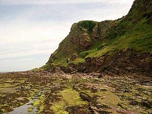 Sanda Island - A view of the coast of Sanda