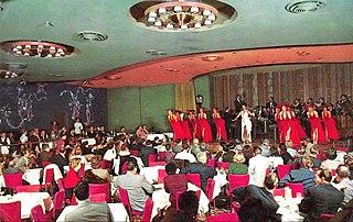 Copa Room entertainment nightclub showroom