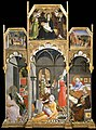 Sano di Pietro - Birth of the Virgin; Stories of the life of the Virgin - Google Art Project.jpg