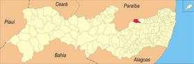 Localização de Santa Cruz do Capibaribe