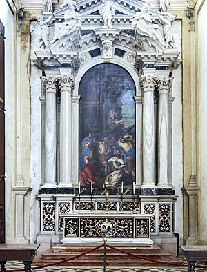Abbey of Santa Giustina - Image: Santa Giustina (Padua) Left nave – Chapel of St. James the Less