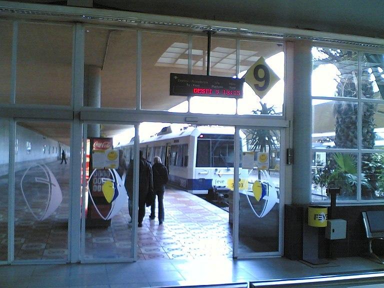Santander FEVE Railway Station
