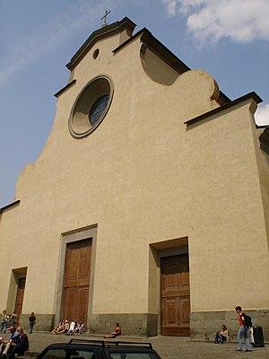 Santo Spirito, Florence - Main facade