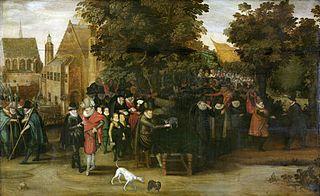 Satire sur la politique néerlandaise autour de 1619