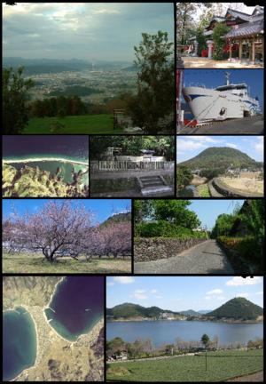 Satsumasendai, Kagoshima - Image: Satsumasendai montage