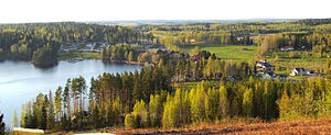 Geography of Finland - Nature of Viitasaari