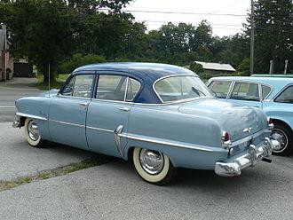 Plymouth Savoy - 1954 Plymouth Savoy Sedan rear view