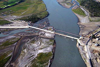 Kunar Province - A bridge in Kunar province.