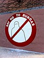 Say no to Burqas mural in Newtown, New South Wales (5037974701).jpg