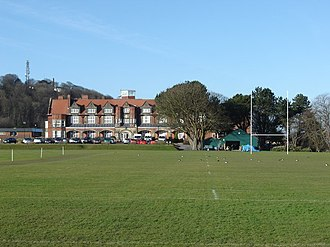 Scarborough College - Image: Scarborough College and Sportsfield geograph.org.uk 1131863