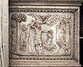 Scarpagnino, rilievi dell'arcone superiore dello scalone della scuola grande di san rocco, ante 1555, 04 sacrificio di isacco.jpg