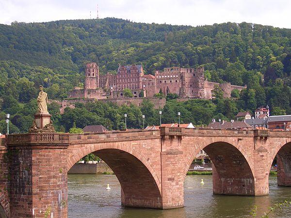 Heidelberg In Der Dichtung Wikiwand