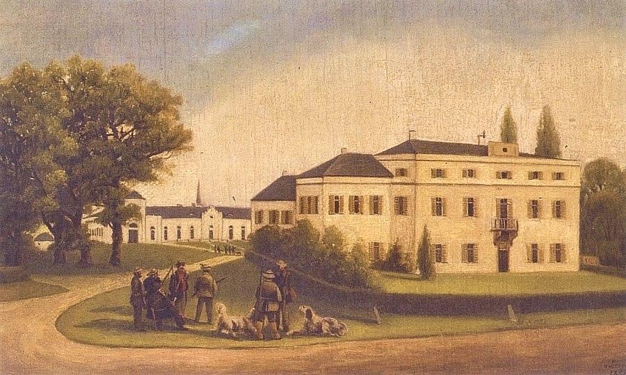Schloss Oberhausen 1858