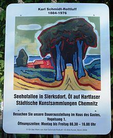 卡尔·施密特罗鲁夫德国画家Karl Schmidt-Rottluff (German, 1884–1976) - 柳州文铮 - 柳州文铮股票数学模型对冲基金