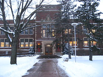 University of Wisconsin–Eau Claire - Schofield Hall, home to administrative offices