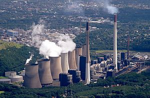 Electricity sector in Germany - Coal-fired power plant Scholven