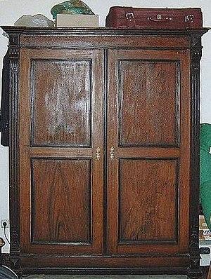 Closet - An antique closet.