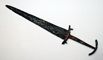Baselard - A 14th-century Swiss basler, predecessor of the classical Swiss dagger used in the 16th century.