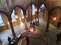 Scottish National Portrait Gallery - view down into Grand Hall 02.jpg