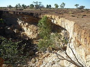 Central West Queensland - Scrammy Gorge near Winton, 2011