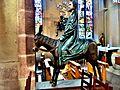 Sculpture le Christ des Rameaux, dans l'église.jpg