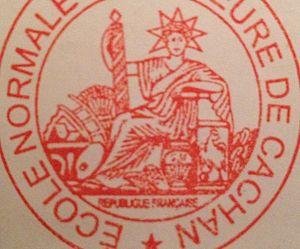 English: seal of the ecole normale superieure ...