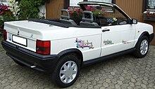 Seat Ibiza Mk1 Cabriolet Derivative Produced By Bieber Cabrio Borken