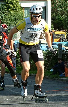 Haseney am 30. August 2004 während des Grand Prix in Steinbach-Hallenberg