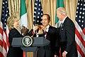 Secretary Clinton and Vice President Biden Co-Host Luncheon for Mexican President Calderon and Mrs. Zavala (4624525618).jpg