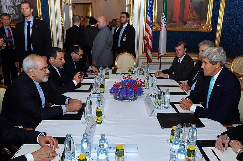 File:Secretary Kerry Meets With Iranian Foreign Minister Zarif in Vienna.jpg