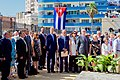Secretary Kerry Stands for the Cuban National Anthem at the Newly Re-Opened U.S. Embassy Havana (20384510058).jpg