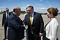 Secretary Pompeo is Greeted by Ambassador McMullen Upon Arrival in Zurich (47978494232).jpg
