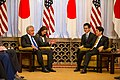 Secretary of Defense Hagel Meets Japan's Prime Minister Abe - Flickr - East Asia and Pacific Media Hub (1).jpg
