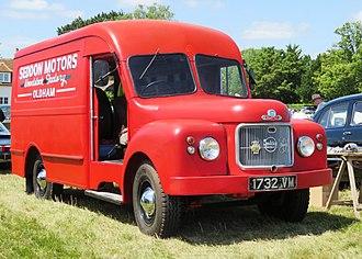 Seddon Atkinson - Seddon Diesel 25 integral parcel van (1963)