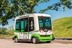 Ligier - Ligier EZ10 self-driving minibus