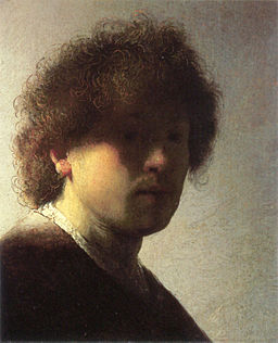 Self-portrait as a Young Man by Rembrandt