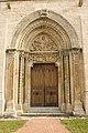 Semur en Brionnais-Église Saint Hilaire-20110212-Porche ouest.jpg