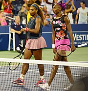 Serena og Venus Williams