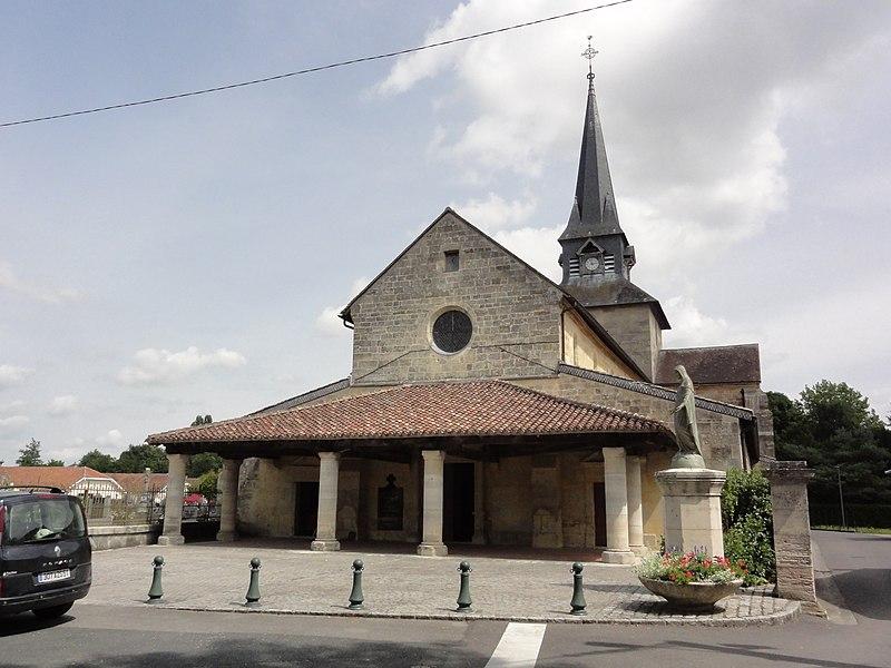Sermaize-les-Bains (Marne) église