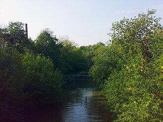 Setun River - Image: Setun River 1 Moscow