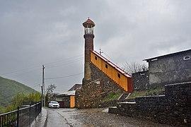 Shaki MinaretGileyli Mosque 004 3836