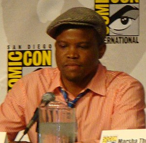 Sharif Atkins - Atkins at the 2010 San Diego Comic-Con International