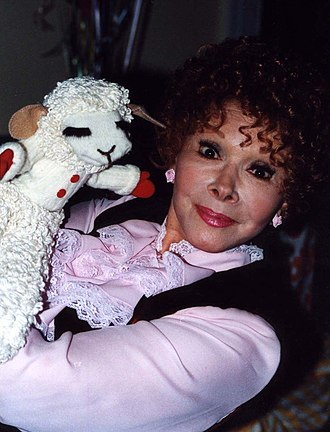 Shari Lewis - Lewis at Larry King's birthday party in 1993