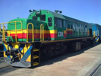 South African Class 31-000 - Image: Sheltam 31 000