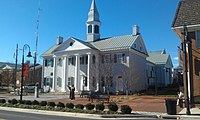 Shenandoah County Courthouse Woodstock VA Nov 11.jpg